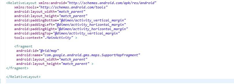 안드로이드 - 구글맵 v2 Error inflating class fragment 에러